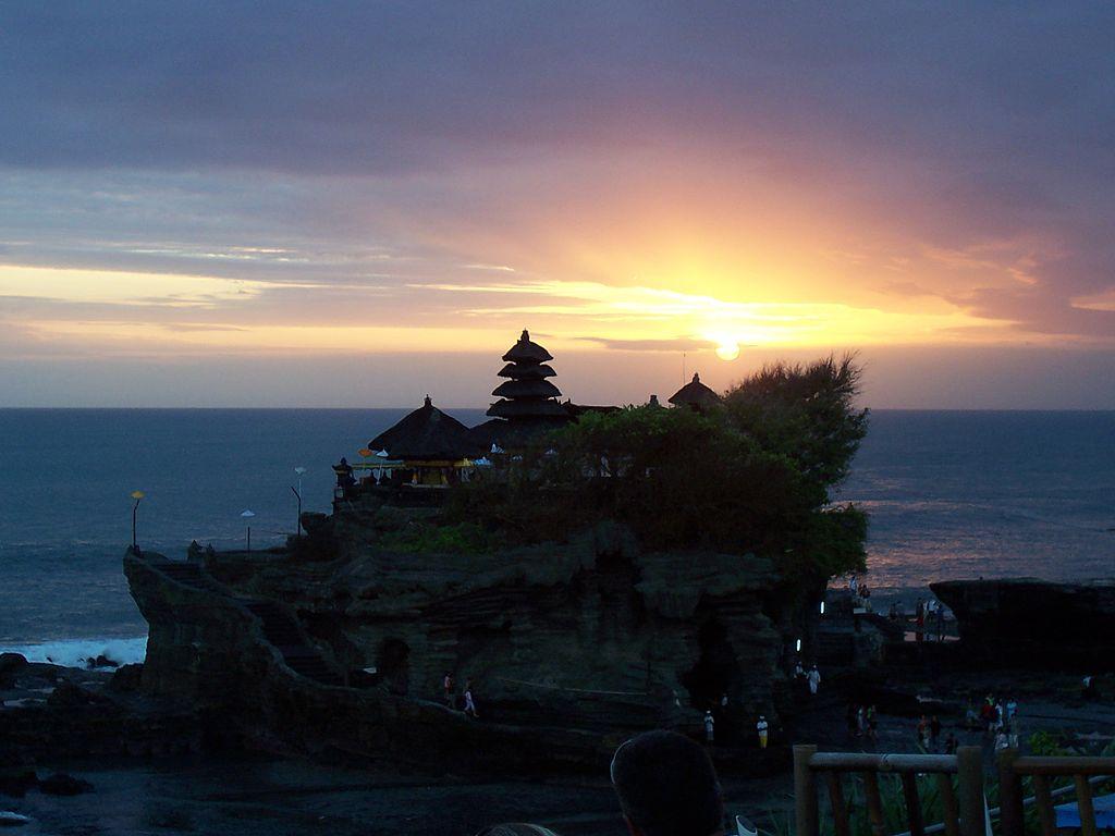 Bali Indonesia Tanah Lot Temple