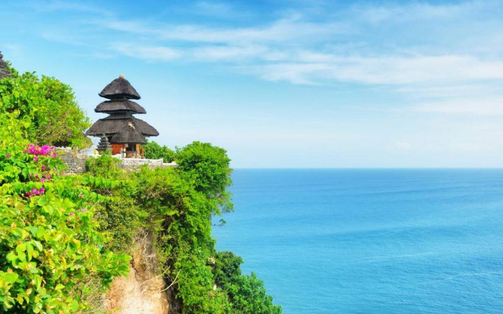 Bali Indonesia Uluwatu Temple