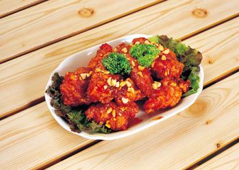 South Korea Food Dak gangjeong