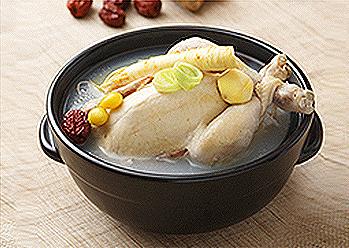 South Korea Food Samgyetang
