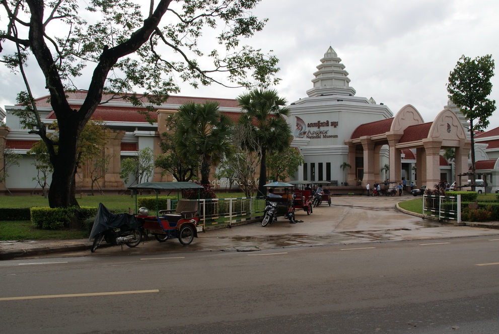 Angkor National Museum Siem Reap Cambodia