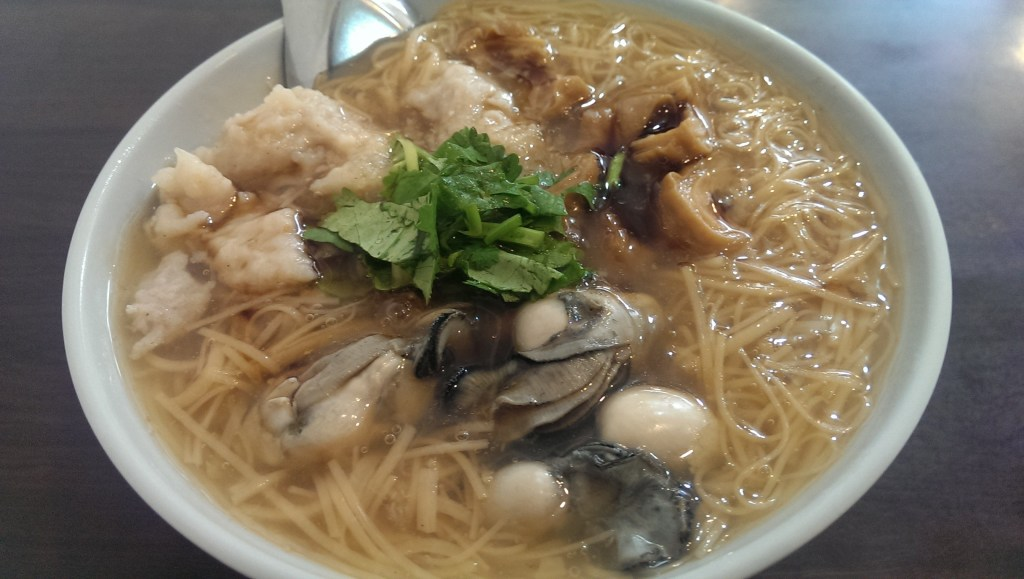 Oysters and intestines noodles Must Try Food Taiwan Best Food in Taiwan